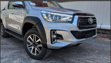 Расширители колесных арок для Exclusive - Toyota Hilux 2015-2019 - Расширители колесных арок