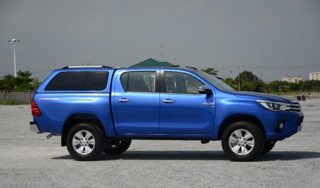 Кунг GTE - Toyota Hilux 2015-2021 - Кунги