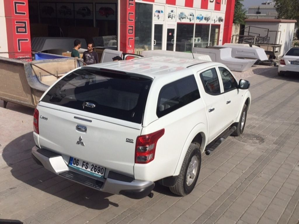 Кунг Canopy Fixed Window - Mitsubishi L200 2015-2019 - Кунги