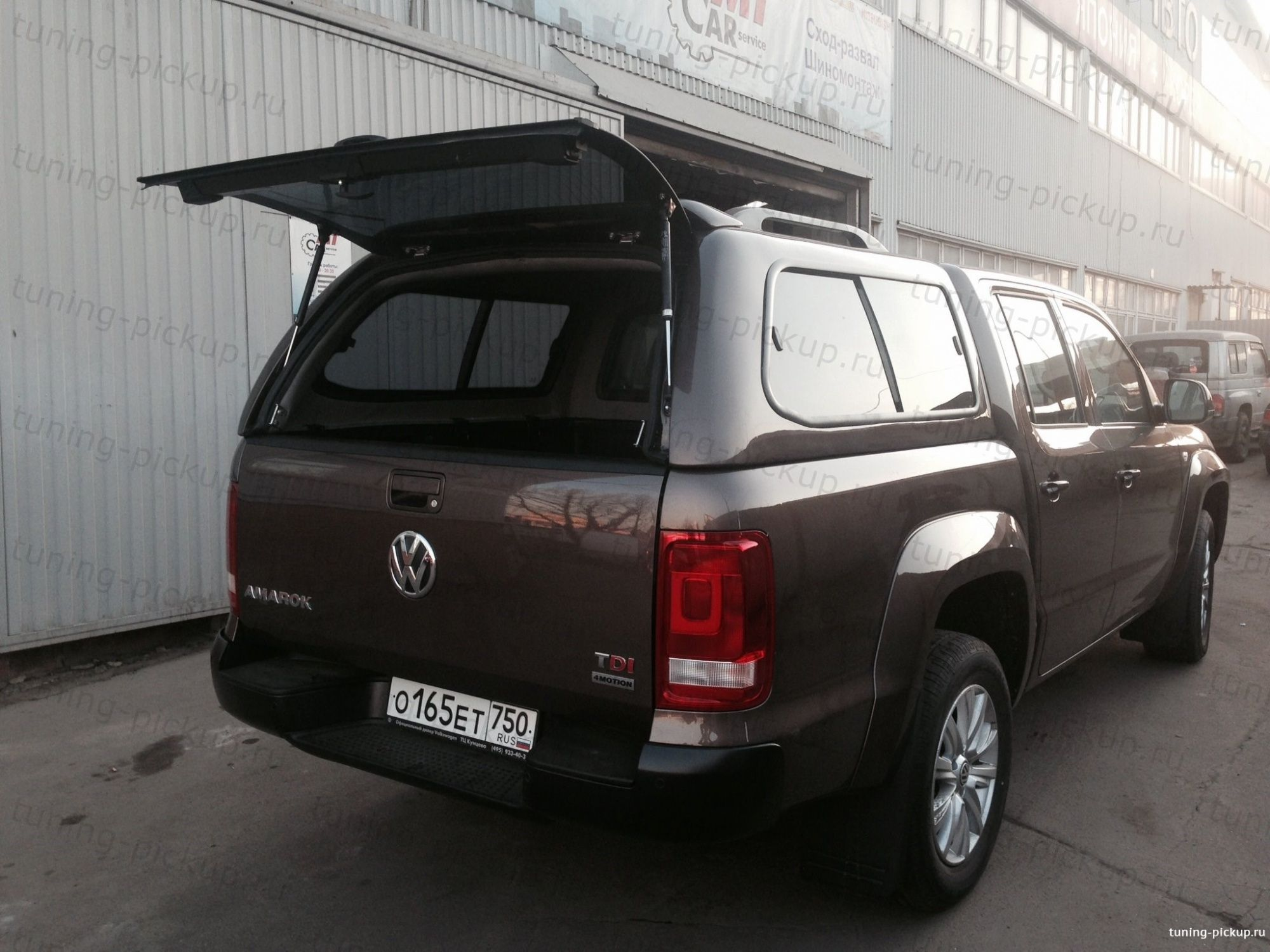 Кунг S1 Side Access  - Volkswagen Amarok - Кунги