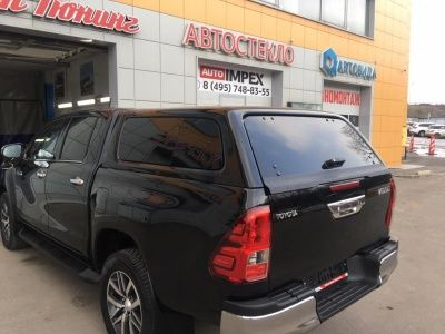 Кунг ABS Stilysh - Toyota Hilux 2015-2019 - Кунги -