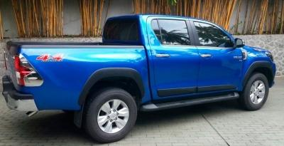 Расширители колесных арок OE-style, for Exclusive - Toyota Hilux 2015-2021 - Расширители колесных арок -